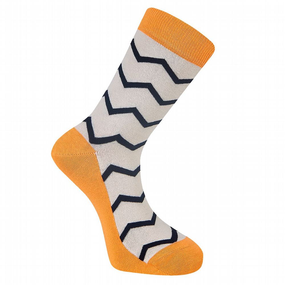 Men's Cotton Socks  - Saput Sock - Sand